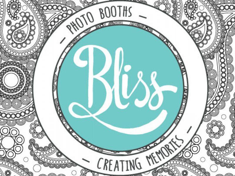 Bliss Photo Booth Logo Design
