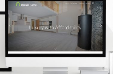 Daduse Homes Website