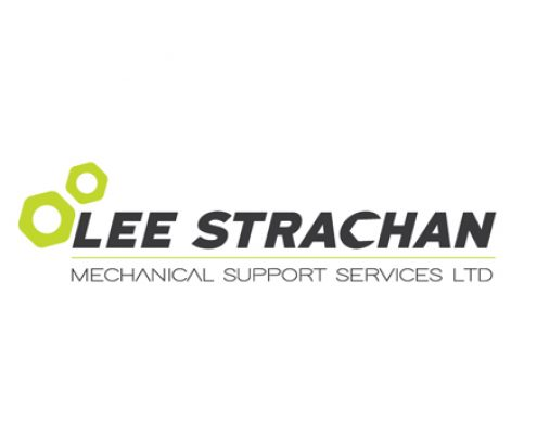 Lee Strachan Logo Design