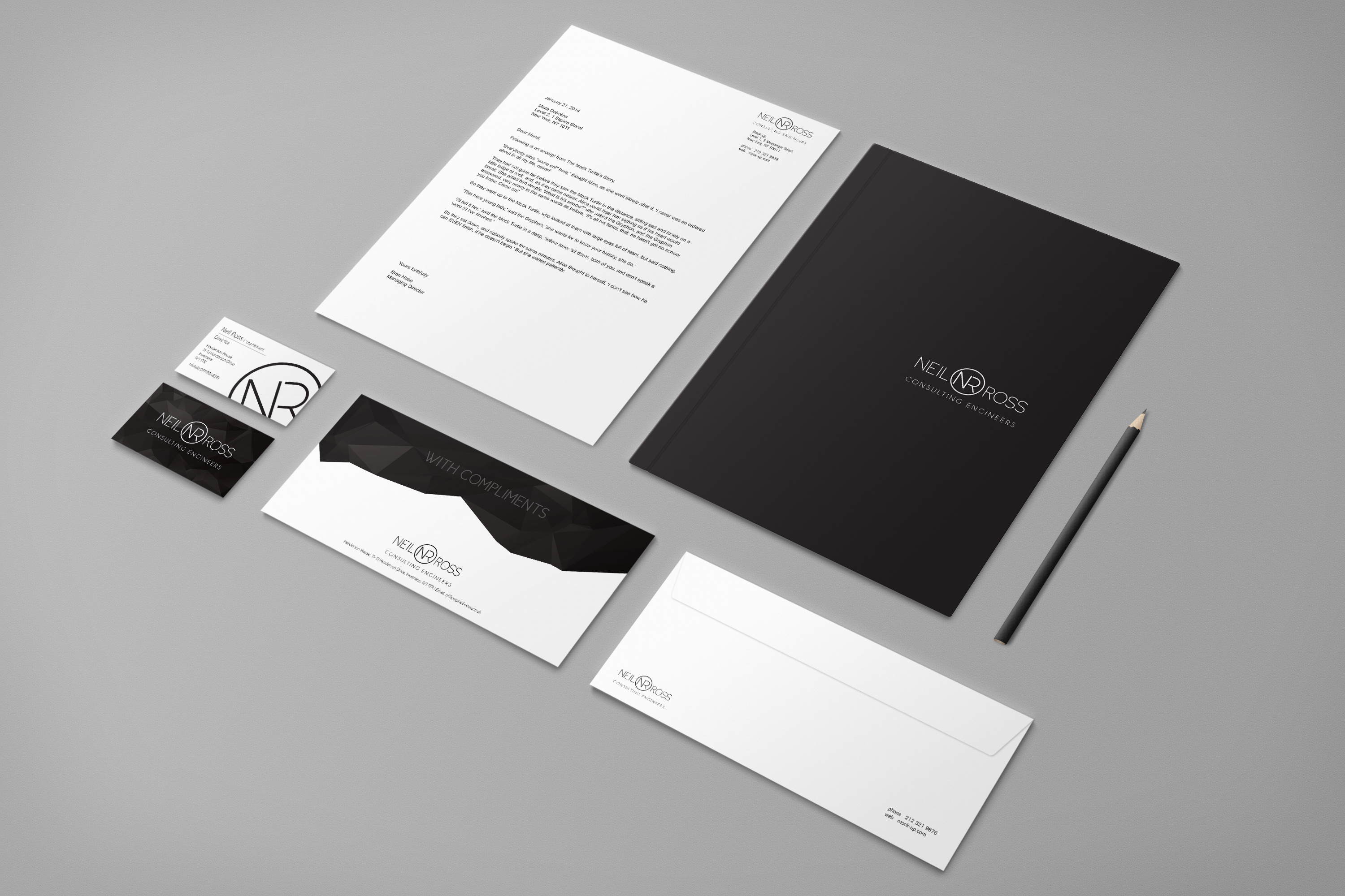 Business cards inverness letterhead business stationery design business stationery design reheart Image collections