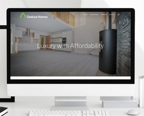 Daduse Homes Website