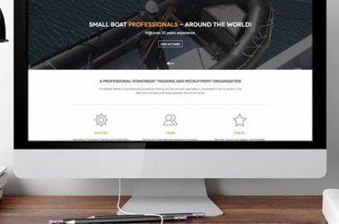 Powerboat Global website design