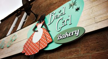 Bad Girl Bakery Signage
